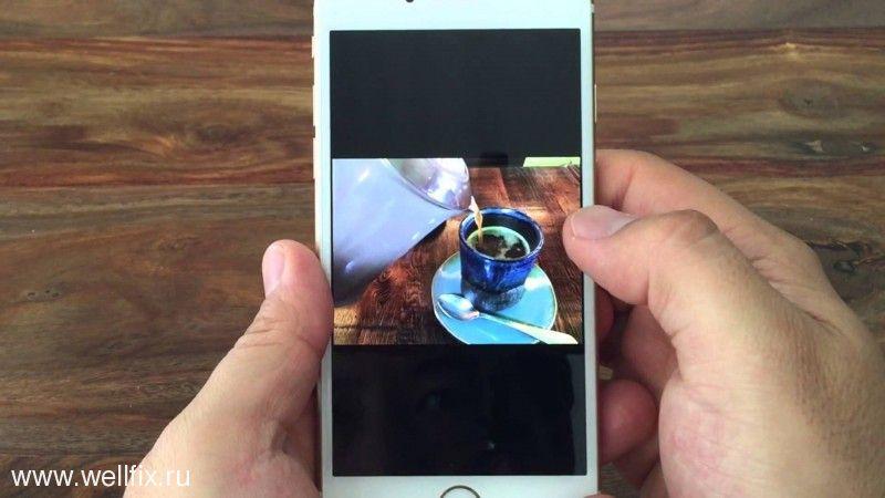 Как сделать фото в фото на айфоне